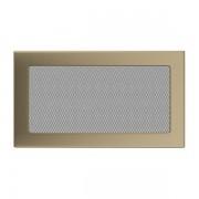 Kamīnu karstā gaisa restīte zelta (galvanizētas) 17x30