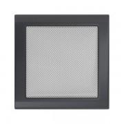 Kamīnu karstā gaisa restīte grafīts 22x22