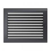 Kamīnu karstā gaisa restīte grafīta (žalūzija) 22x30