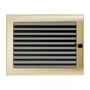 Kamīnu karstā gaisa restīte zelta (žalūzija) 22x30