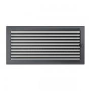 Kamīnu karstā gaisa restīte grafīta (žalūzija) 22x45