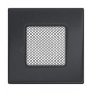 Kamīnu karstā gaisa restīte 11x11 (grafīta)