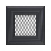 Kamīnu karstā gaisa restīte oskar (grafīta) 11x11