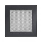 Kamīnu karstā gaisa restīte grafīta 17x17