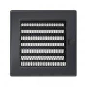 Kamīnu karstā gaisa restīte grafīta (žalūzija) 17x17