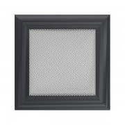 Kamīnu karstā gaisa restīte oskar (grafīta) 17x17