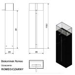 Biokamīni Kratki ROMEO